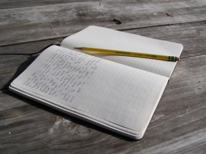 Pencil and Journal
