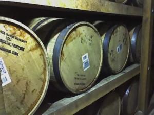 Barrels at Jack Daniels