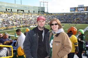 Chris and Me at Green Bay (2009)