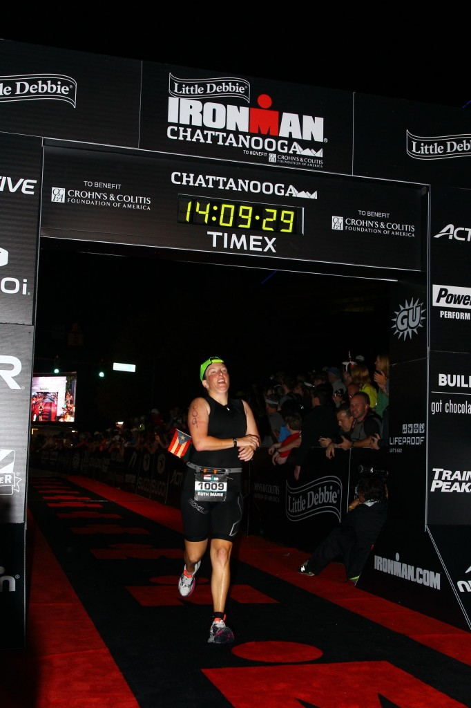 Ironman Chattanooga Finish